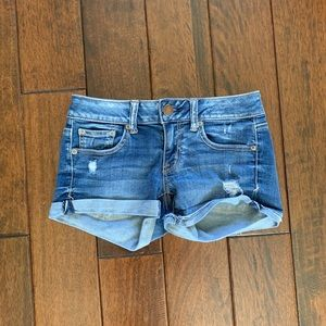 American Eagle Jean Shorts Size 2